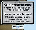 Ponto de la du Bordoj, averta ŝildo.jpeg