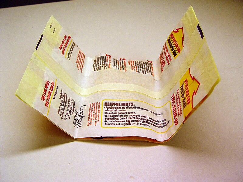 Bag Microwave Popcorn Microwave Popcorn Bag From