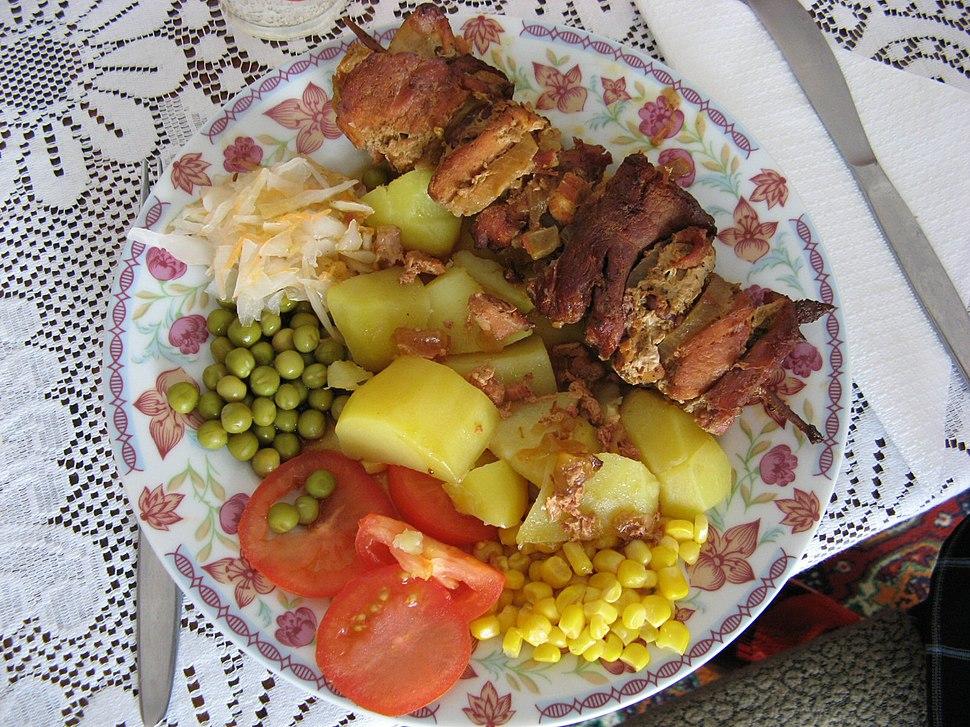 Pork skewer
