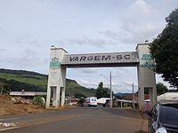 Portal de entrada de Vargem, SC.JPG