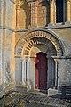 Porte latérale sud de l'église Saint-Germain de Cintheaux.jpg