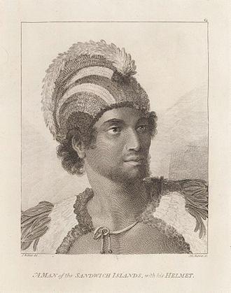 """Kalaimanokahoʻowaha - High Chief, Kalaimanokahoʻowaha, also known as Kanaʻina nui (""""The conquering"""")"""
