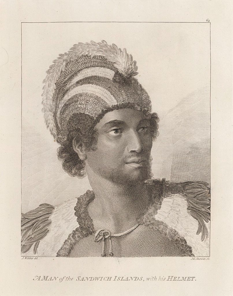 File:Portrait of Kaneena, a chief of the Sandwich Islands in the North Pacific.jpg