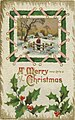Postcard sample from the Auburn Postcard Co, A Merry Christmas (NBY 423027).jpg