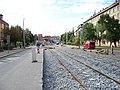 Průběžná, rekonstrukce TT, u smyčky Radošovická (01).jpg