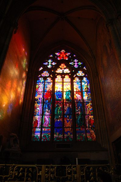 Katedrála, Kaple sv. Ludmily 02 קתדרלת סנט ויטוס