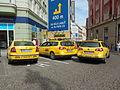 Praha, taxi na nám. Republiky.jpg