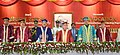 Pranab Mukherjee at the 13th convocation of Visvesvaraya National Institute of Technology, at Nagpur, in Maharashtra. The Governor of Maharashtra, Shri C. Vidyasagar Rao.jpg