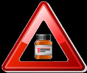 Classification of Pharmaco-Therapeutic Referrals - Image: Precaución con los fármacos 2
