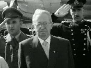 Bestand:President Ben Zwi van Israël in ons land.ogv