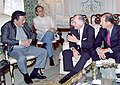 President Estrada with American business executives (2000).jpg