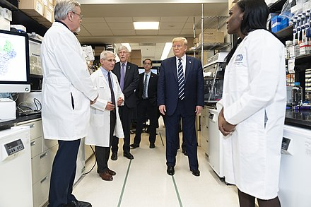 President Trump at the National Institute of Health %2849618032306%29.