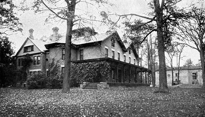 Presidents Rutherford B Hayes home Spiegel Grove Fremont Ohio.jpg