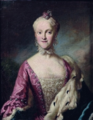 Presumed portrait of Kunigunde of Saxony, misidentified with Karoline Luise von Baden.png