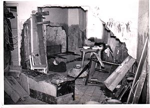 Prima Porta - Image: Prima Porta house damaged by 1965 flooding