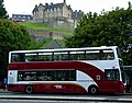 Princes Street, bus and castle - geograph.org.uk - 2582628.jpg