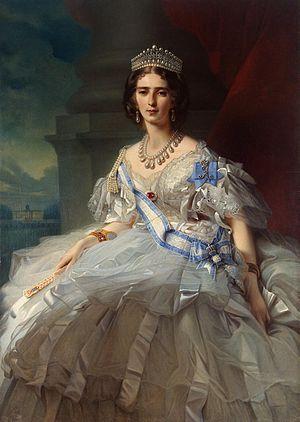 1858 in Russia - Princess Tatiana Alexandrovna Yusupova, 1858