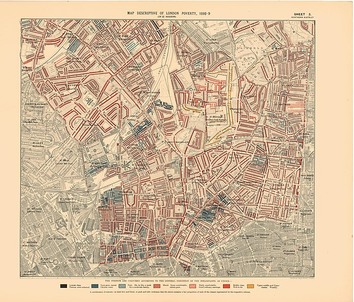 File:Printed Map Descriptive of London Poverty 1898-1899. Sheet 3. Northern District (22750627105).jpg