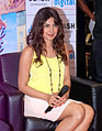 Priyanka promotes 'Teri Meri Kahaani' at Reliance Digital 04.jpg