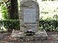 Priziac stele commemorative resistants fusilles en 1944 a Botquenven.jpg
