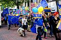 Pro-EU rally, Birmingham, England, during the Conservative Party conference 02.jpg