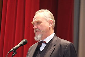 Professor Andrei Zubov at anti-war congress 1.JPG