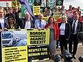 Protest at Boris Johnson visit (48421499401).jpg