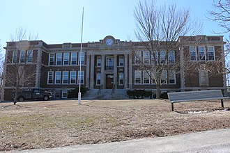 Provincetown High School - Image: Provincetown High School, March 2014