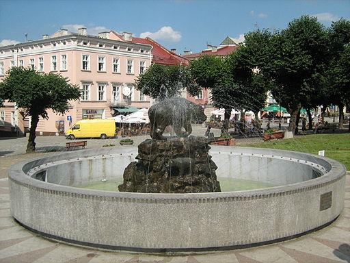 Przemysl fontanna
