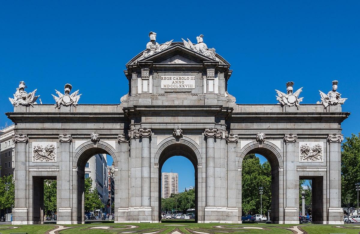 Puerta de alcal wikipedia la enciclopedia libre - Hotel puerta de alcala ...