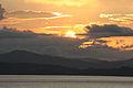 Puesta de Sol desde el Puerto de la ciudad de Punta Arena Costa Rica Noviembre 2.009.jpg