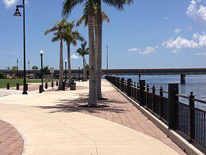 Harborwalk - Harborwalk along the Peace River