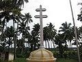 Puthenchira Forane Church, പുത്തൻച്ചിറ ഫോറോന പള്ളി - കുരിശ്.JPG