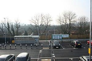 Pye Corner railway station - Image: Pye Corner Station 1