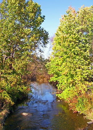 Quassaick Creek - Creek along the Newburgh city-town line