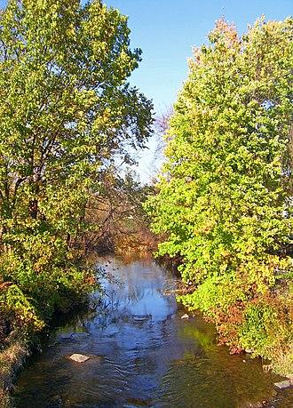 Quassaick Creek - Creek along the Newburgh city-town line
