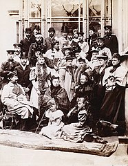 Queen Victoria and family at Coburg.jpg