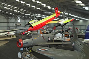 Queensland Air Museum - Queensland Air Museum Hangar 2 display