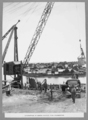 Queensland State Archives 3332 Excavation of north anchor pier foundation 24 April 1936.png