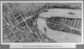 Queensland State Archives 3341 Birds eye view of Brisbane River Bridge and approaches c 1934.png