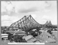 Queensland State Archives 4039 The bridge from All Hallows school grounds Brisbane 22 April 1940.png