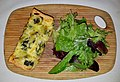 Quiche and salad - Boston, MA - 20180210 121448.jpg