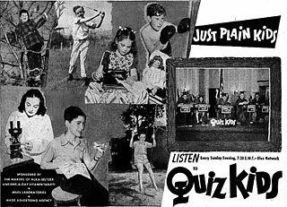 <i>Quiz Kids</i> Radio and television series