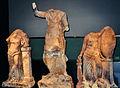 Römermuseum Osterburken - Figurengruppe vom Limeswachturm Wp 10-37.jpg