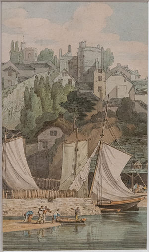 John White Abbott - Image: RAMM Abbott Near the Quay, Exeter