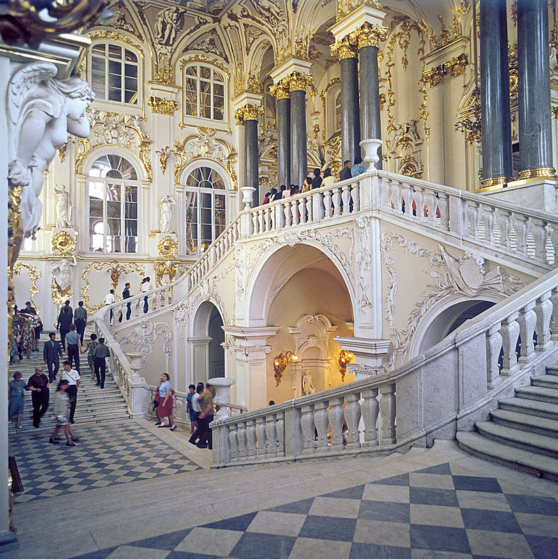 Hermitage Museum Winter Palace Jordan Staircase