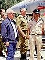 Rabin's visit to Ramat David Airbase 1994.jpg