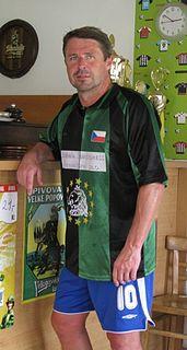 Radim Nečas Czech soccer player, soccer representant and soccer coach