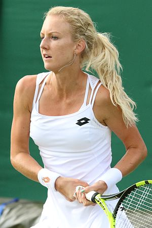 Urszula Radwańska - Radwanska at the 2016 Wimbledon Championships