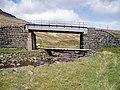 Rail and footpath bridges over the Allt Luib Ruairidh - geograph.org.uk - 177749.jpg